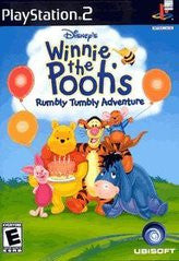 Winnie the Pooh Rumbly Tumbly Adventure Playstation 2 Game Off the Charts
