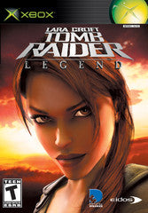 Tomb Raider Legend Xbox Game Off the Charts