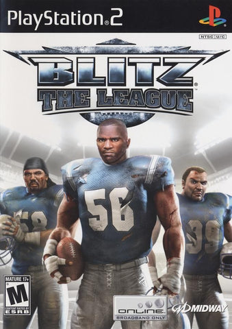 Blitz the League Playstation 2 Game Off the Charts