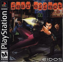 Fear Effect Playstation Game Off the Charts