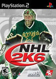 NHL 2K6 Playstation 2 Game Off the Charts