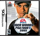 Tiger Woods PGA Tour 2005 Nintendo DS Game Off the Charts