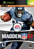 Madden '07 Xbox Game Off the Charts