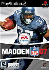 Madden '07 Playstation 2 Game Off the Charts