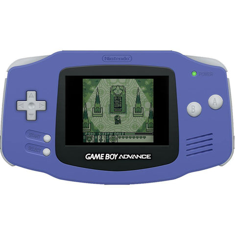 Game Boy Advance - Game Boy Advance Console With New Screen Installed (Purple) - Game Boy Advance Console With New Screen Installed (Purple)