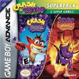 Crash & Spyro Super Pack Game Boy Advance Game Off the Charts