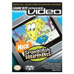 GBA Video SpongeBob SquarePants Volume 2 Game Boy Advance Game Off the Charts