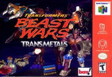 Transformers Beast Wars: Transmetals Nintendo 64 Game Off the Charts