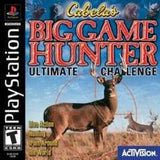 Cabelas Big Game Hunter Ultimate Challenge Playstation Game Off the Charts