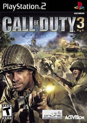 Call of Duty 3 Playstation 2 Game Off the Charts