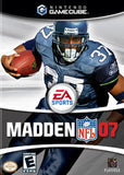Madden '07 Nintendo Gamecube Game Off the Charts