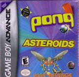 Asteroids / Pong / Yar's Revenge Game Boy Advance Game Off the Charts