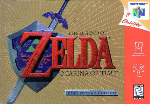 The Legend of Zelda: Ocarina of Time Collector's Edition Nintendo 64 Game Off the Charts