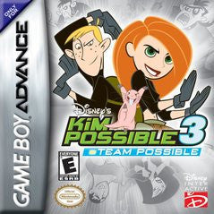 Kim Possible 3: Team Possible Game Boy Advance Game Off the Charts
