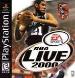 NBA Live 2000 Playstation Game Off the Charts