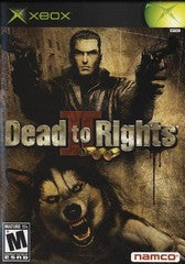 Dead to Rights II Xbox Game Off the Charts