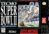 Tecmo Super Bowl II Special Edition - Off the Charts Video Games