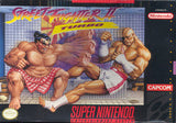 Street Fighter II Turbo Super Nintendo Game Off the Charts