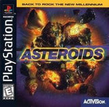 Asteroids Playstation Game Off the Charts