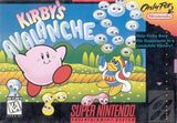 Kirby's Avalanche Super Nintendo Game Off the Charts