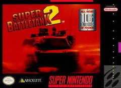 Super Battle Tank 2 Super Nintendo Game Off the Charts