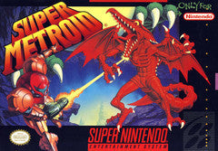 Super Metroid Super Nintendo Game Off the Charts