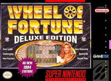 Wheel of Fortune Deluxe Edition Super Nintendo Game Off the Charts