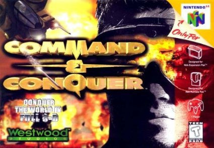 Command & Conquer Nintendo 64 Game Off the Charts