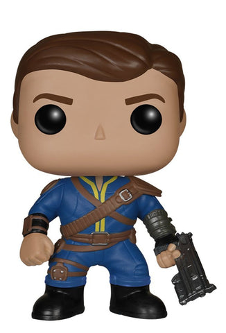 Lone Wanderer Male Fallout Pop! Vinyl Toys Toys Off the Charts