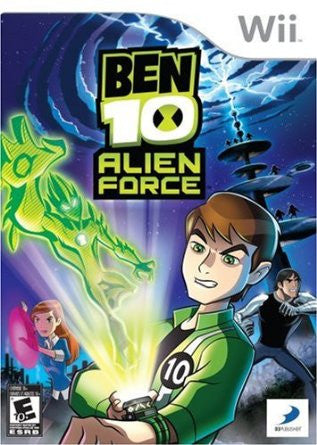 Ben 10 Alien Force Wii Game Off the Charts