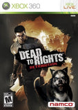 Dead To Rights Retrbution - Off the Charts Video Games