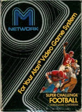 Super Challenge Football Atari 2600 Game Off the Charts