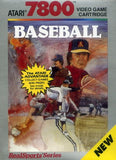 RealSports Baseball Atari 7800 Game Off the Charts