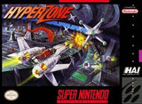 Hyperzone Super Nintendo Game Off the Charts