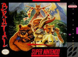 Brutal Paws of Fury Super Nintendo Game Off the Charts