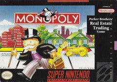 Monopoly Super Nintendo Game Off the Charts