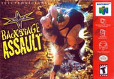 WCW Backstage Assault Nintendo 64 Game Off the Charts