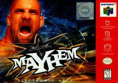 WCW Mayhem Nintendo 64 Game Off the Charts