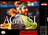 Andre Agassi Tennis Super Nintendo Game Off the Charts