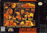 WWF Raw Super Nintendo Game Off the Charts