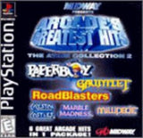 Arcade's Greatest Hits the Atari Collection 2 Playstation Game Off the Charts
