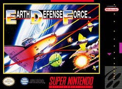 Earth Defense Force Super Nintendo Game Off the Charts