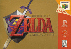 The Legend of Zelda: Ocarina of Time Nintendo 64 Game Off the Charts
