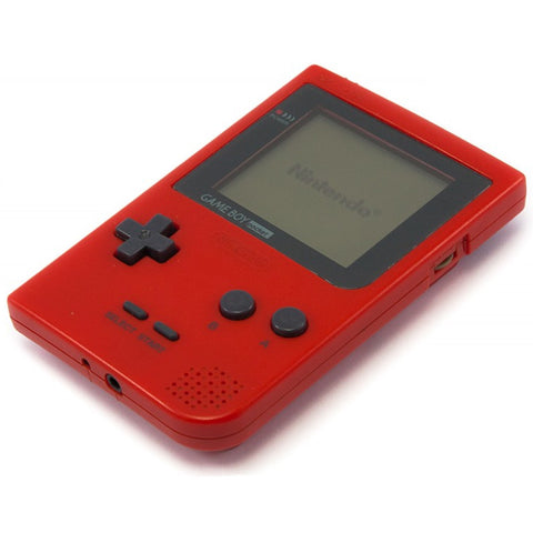 Game Boy Pocket - Red [Game Boy] Game Boy Console Off the Charts