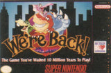 We're Back: A Dinosaur Story Super Nintendo Game Off the Charts