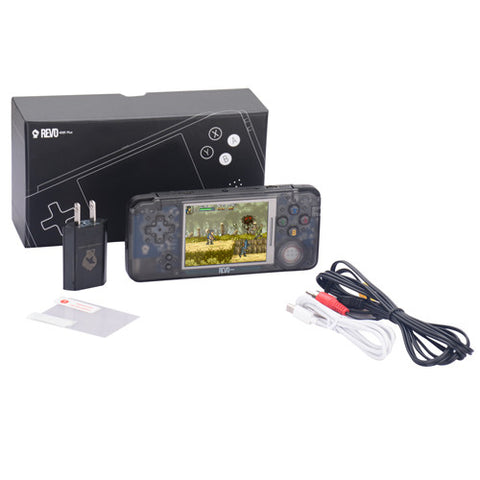 Revo K101 Plus Game Boy Advance System with Backlight in Crystal Black - Off the Charts Video Games