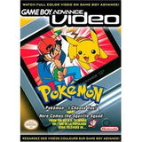 GBA Video Pokemon I Choose You and Here Comes the Squirtle Squad Game Boy Advance Game Off the Charts