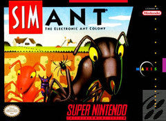 SimAnt Super Nintendo Game Off the Charts