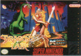 Dragon's Lair Super Nintendo Game Off the Charts
