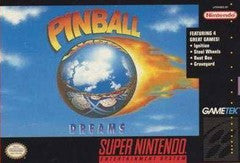 Pinball Dreams Super Nintendo Game Off the Charts